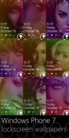 WP7 Zune'd Babes Wallpapers by exsess