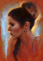 RIP Carrie Fisher by SigmaK