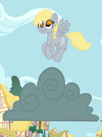 Derpy and the Cloud by SSB09