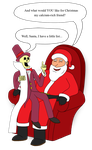 Santa Comes To Cartoonival: Lent by MetalShadowOverlord