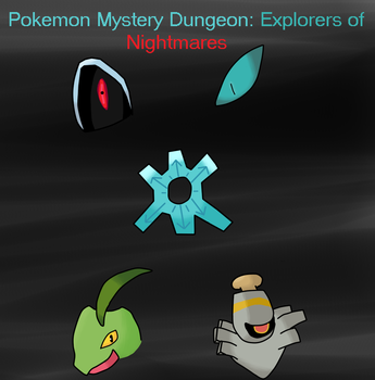 Pokemon Mystery Dungeon: Explorers of Nightmares by OmegaCrafter17