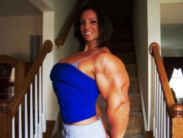 Female Muscle Morph by Compromise87