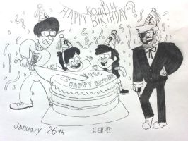 Happy Birthday by komi114 by komi114