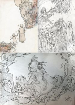 Pencil Sketches by kaiser-mony
