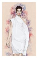 Fashion illustration - Diogo Miranda SS14 by Tania-S