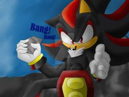 Shadow The Hedgehog -Bang!- by MonicaShadowXD