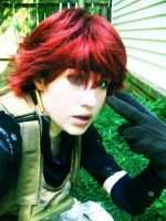 Meryl MGS4 Cosplay by PaleFunnyGhost