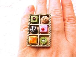 Sweets Cake Ring by souzoucreations