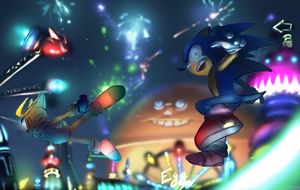 Sonic Colours by Legeh