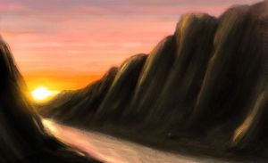 Canyon speed paint by StanIV