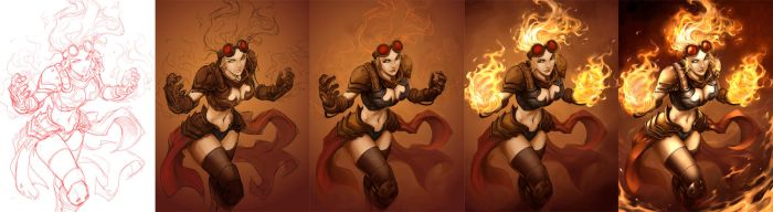 Chandra Process by Quirkilicious