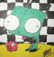 GIR POINTALISM +_+ by my-chemical-emo