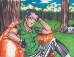 A Couch in the Trees by LilliM00