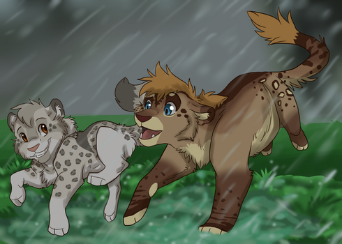 Puddles by Firewolf-Anime