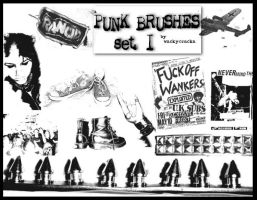 Punk Brushes I by da-punks