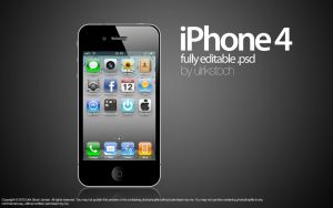 iPhone 4 by ulrikstoch