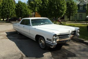 Stock - white classic Cadillac by triinustock