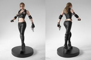 Sonya Blade by LilSophie