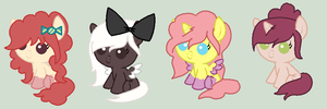 Candy And Cookies Adoptables CLOSED by saramanda101