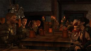 A tavern-Dragon Age Origins by errantknight1
