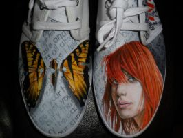 paramore custom shoes by danleicester