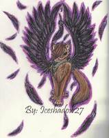 Black Winged Protector by RhysandNight