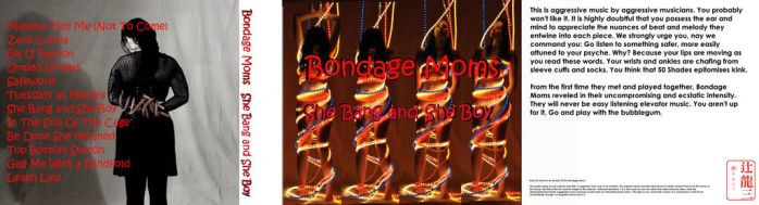 Real CD Cover to Unreal CD #2: Bondage Moms by madshutterbug