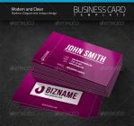 Modern and Clean Business Card by artnook