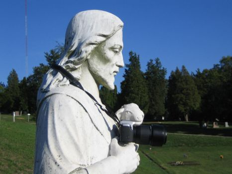 Jesus and my Camera by LostandFoundAgain