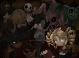 puppets by Meammy