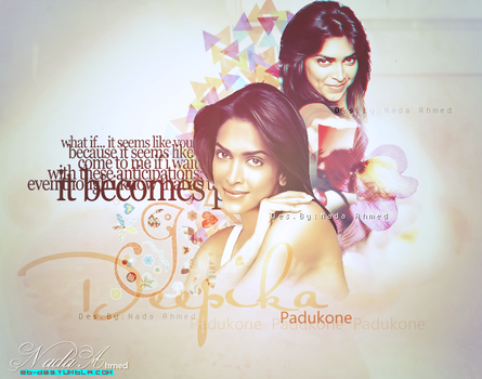Des for Deepika by Shahrukh-Ki-Deewani