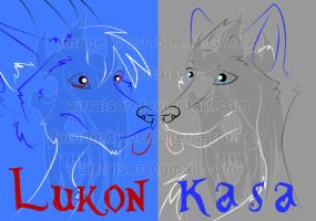 Badge: Lukon and Kasa 2015 by AirRaiser