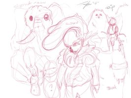 WIP - CIRCUS FRIENDS by mrcatTEARS