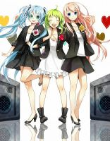 Vocaloids by iiCookies
