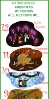 12 Gifts of Art by Ludicrous1