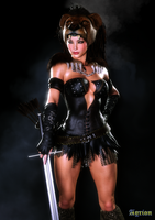 Amazon Warrior by Agr1on