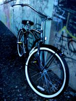 Hey That's My Bike by kricit-photography