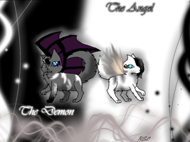 Angels and Demons~ Cat version by Rainstarlightsky