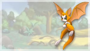 Dust: An Elysian Tail: Fidget Wallpaper by AMKitsune