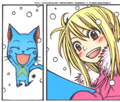 Happy and Lucy by Perfectionxanime