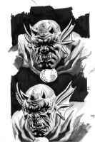 Etrigan tryouts by felipemassafera