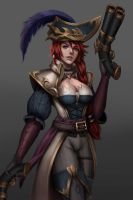 Captain Fortune :3 by FigmentC