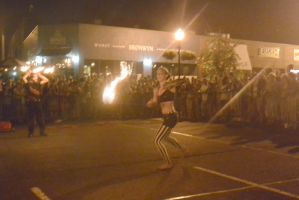 Ignite the Night Fire/Food Fest,One Fist Flaming by Miss-Tbones