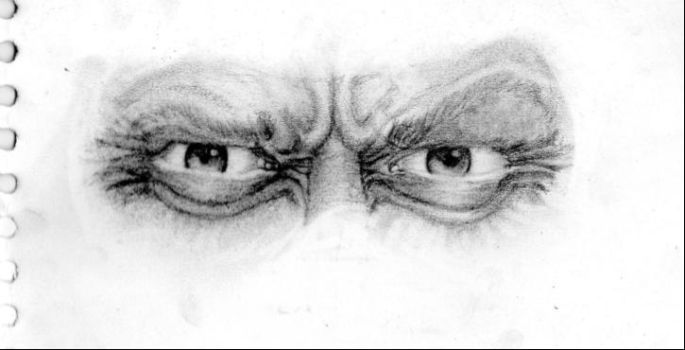 old man eyes by the-indu-drawer