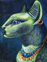Bastet by cheshirecatsmeow
