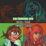 OPEN: Icon Commissions by Dingo-Sniper