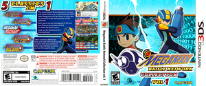 Boxart: Megaman Battle Network Collection vol. 1 by DPghoastmaniac2