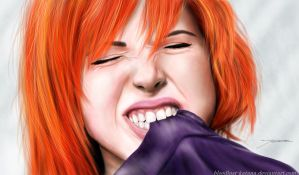 Hayley Williams by bloodlust-katana