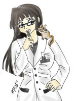 Dr. Umihime Ishii by MikaMonster