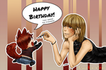 HBD Mello! - Play With The Dog by ElyonBlackStar